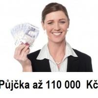 Rychlá a seriózní půjčka až 110 000,- bez ručitele
