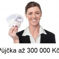 Půjčka až 300 000,- Kč bez registru a poplatku!