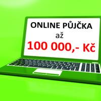 Rychlá online půjčka až 100tis.