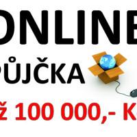 Online úvěr až 100 tis. Kč