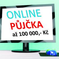 Výhodná online půjčka až 100 000,- Kč
