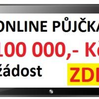 Rychlá online půjčka až 100 000